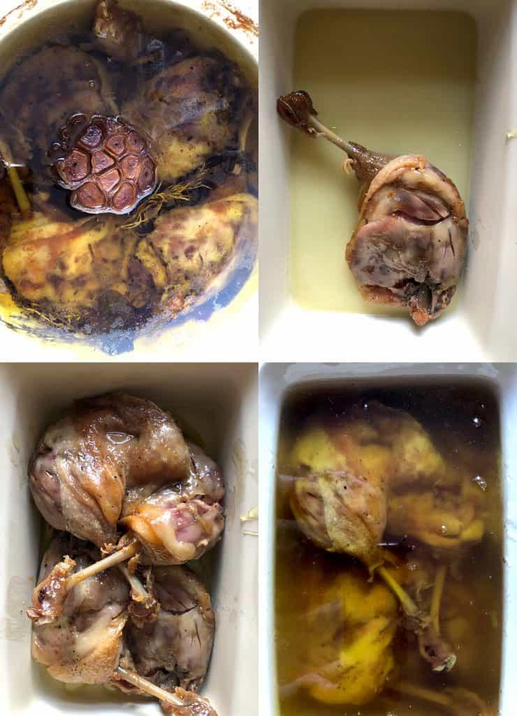 A zsír tartósítja a konfitált kacsacombot évezredek óta. Sokan csak a konfitált libacombot ismerik, de szinte bármilyen hússal működik